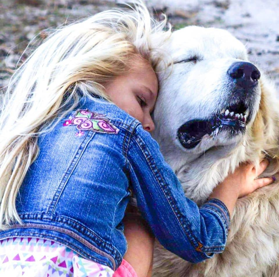 Things to do near me. A photo of a girl hugging a dog